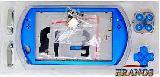 Корпус синий для Sony PSP Go  кнопки винты наклейки