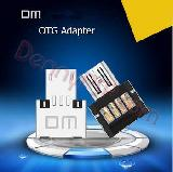 Dm OTG адаптер USB to microUSB - оригинал